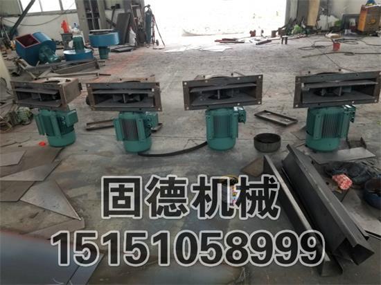 广东江门抛丸器4台,11kw电机,高铬耐磨护板组成中,准备发货