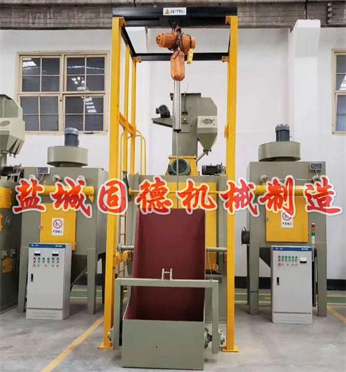 Q32系列履带式抛丸机全自动抛丸机图片展示,江苏盐城固德机械生产
