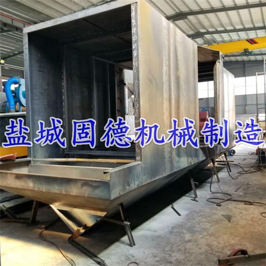 大型辊道通过式抛丸机生产厂内实拍图片,真正的实力工厂,源头厂家,性价比高