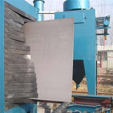 钢板立式抛丸机