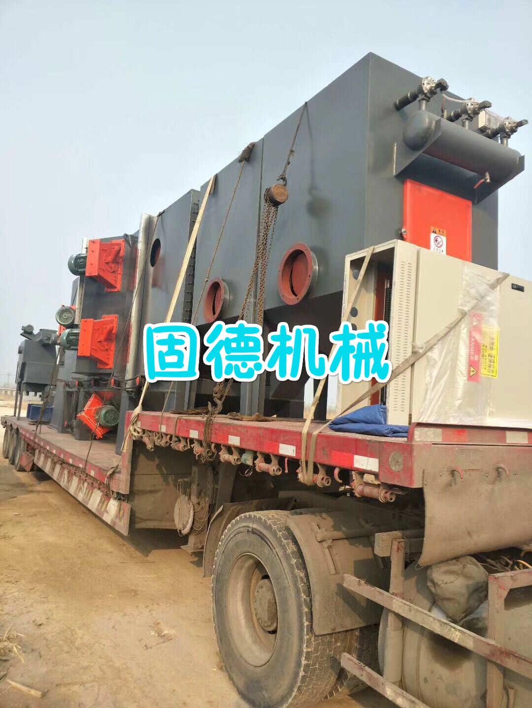 型钢钢管抛丸机发往江苏扬州
