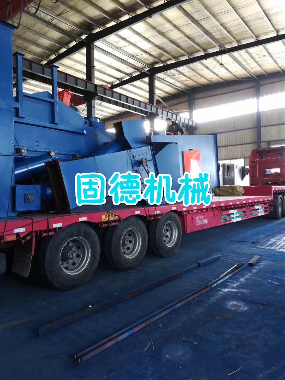 钢管抛丸机发往江苏徐州
