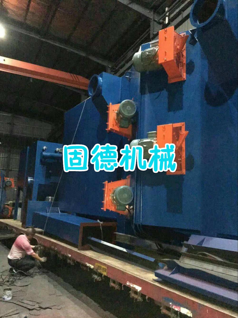 钢结构抛丸机发货越南