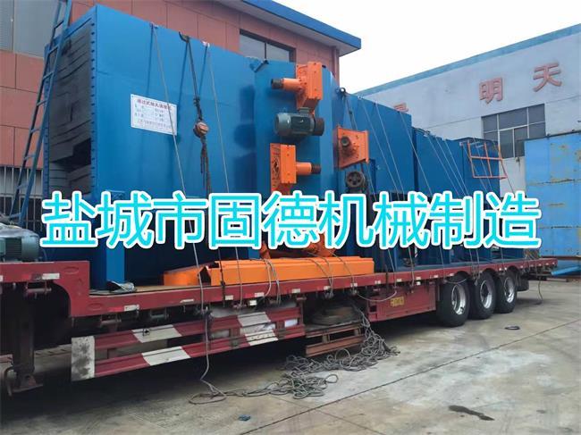 8抛头型钢抛丸机发货福建漳州