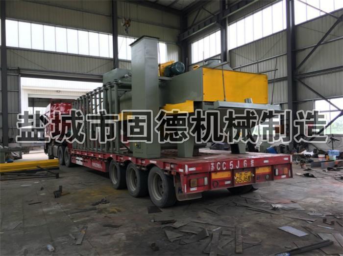 板材型钢型材抛丸机设备发货江苏徐州