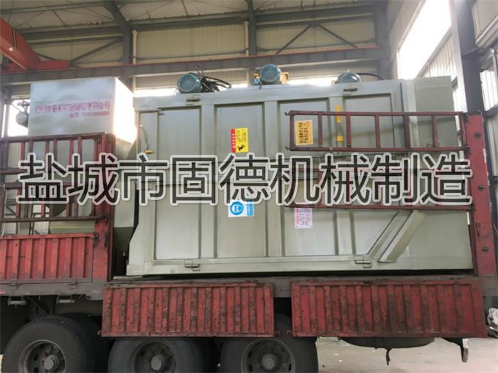 南昌吊挂式抛丸机用于挂具清理发货