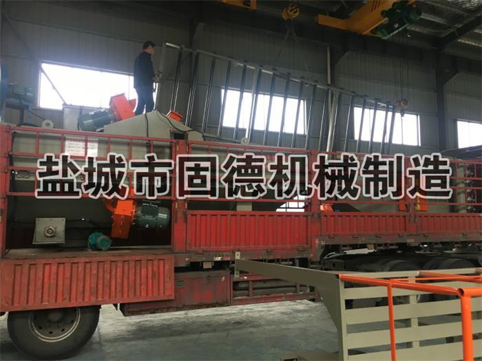 铝模板通过式抛丸机发货山东滨州