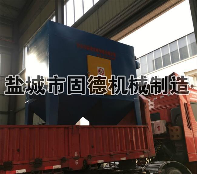 大型抛丸机配套除尘器发货山东济宁