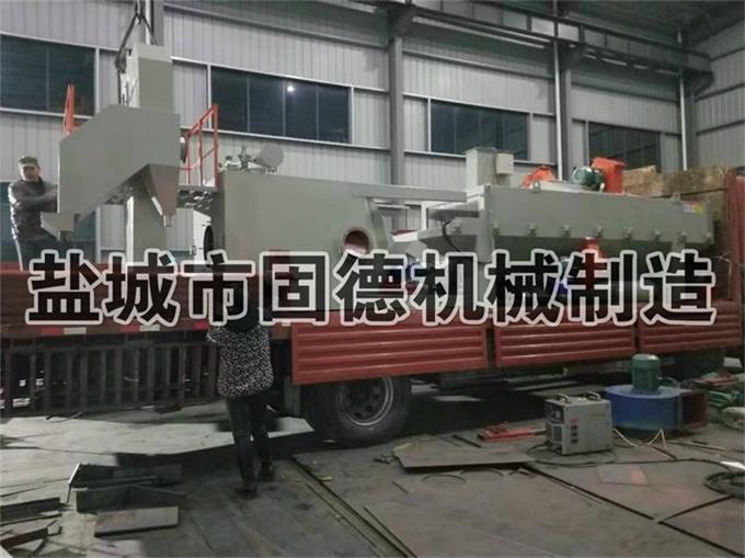 河南型钢抛丸机通过式装车发货