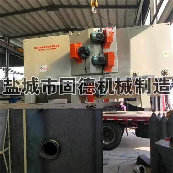 广东钢结构抛丸机发货安装